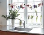 Новогодние композиции в интерьере кухни