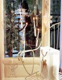 Интерьер гостиной декорированный к новому году
