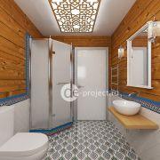 Дизайн интерьера санузла в частном доме