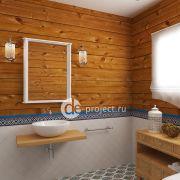 Дизайн-проект санузла в частном доме